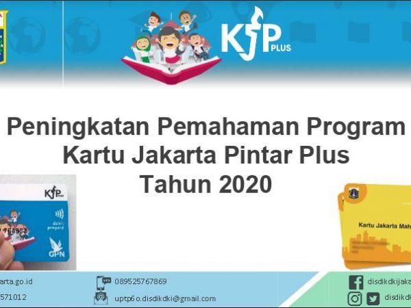 Download Materi Peningkatan Pemahaman Program KJP Plus Tahun 2020