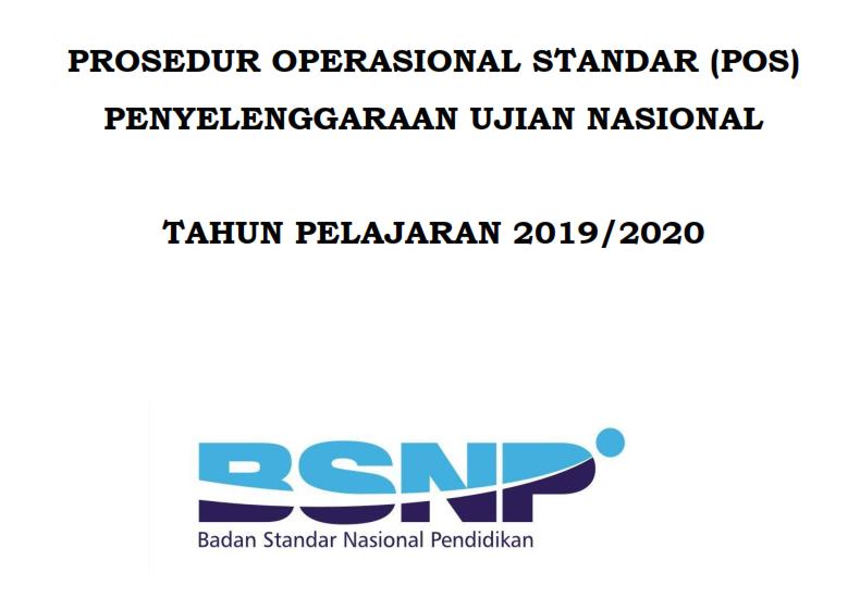 Revisi POS UN Tahun Pelajaran 2019_2020