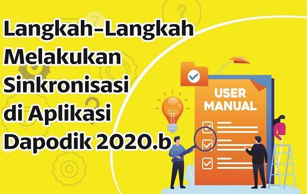 Langkah-Langkah Melakukan Sinkronisasi di Aplikasi Dapodik 2020b